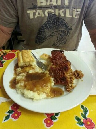 Southern Cafe and Such: meatloaf and mash potatoes!
