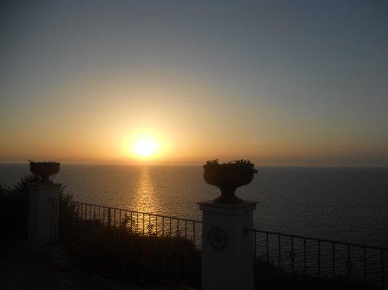 Albergo Belvedere : tramonto vista ponza