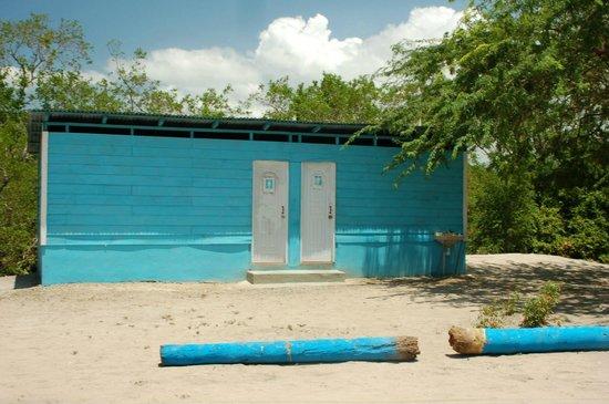 Playa Ensenada : Bathroom to Margarita's Restaurant