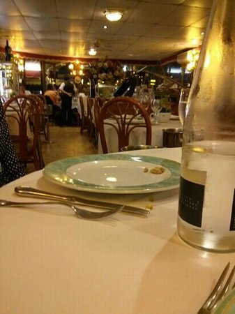 Restaurant Bahia: cena mes de agosto