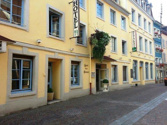 Hotel La Balance: L'ingresso
