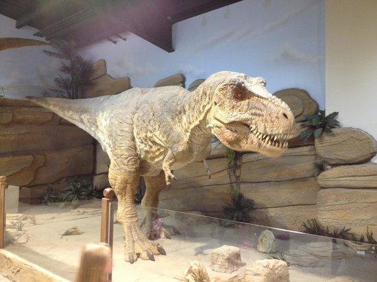 Fossil World Discovery Center Museum: The animatronic dinosaur