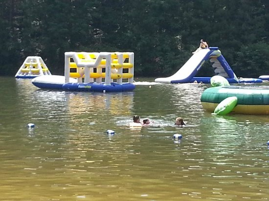ACE Adventure Resort: Inflatable Water Park