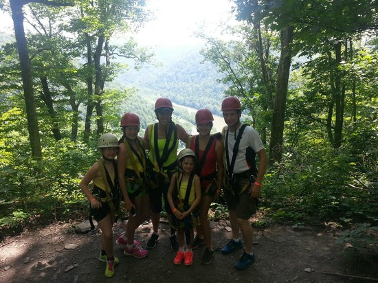 ACE Adventure Resort: Overlook during ziplining