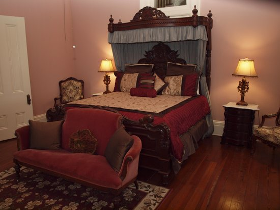 ‪‪Cheneyville‬, لويزيانا: Bedroom at Loyd Hall‬