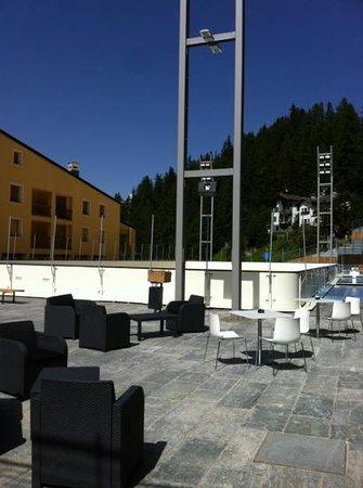 Gressan, إيطاليا: patinoire del cra cra bar