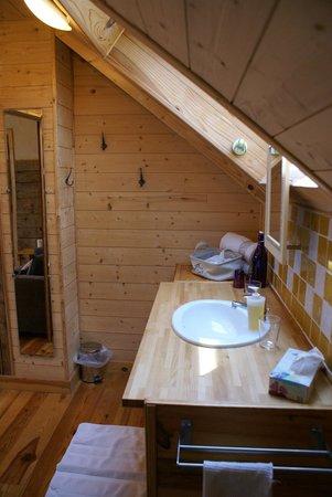 La Vigne Sur Le Foin : Salle de bain privative