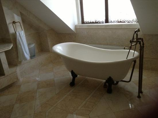 Sofia Bed & Breakfast: Check out the bath tub!