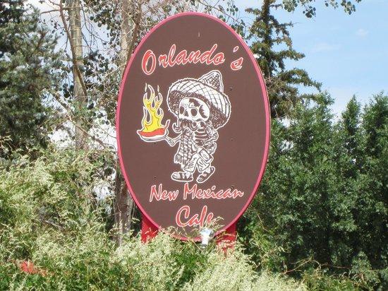 Orlando's New Mexican Cafe: Orlando's Norte Outdoor Sign