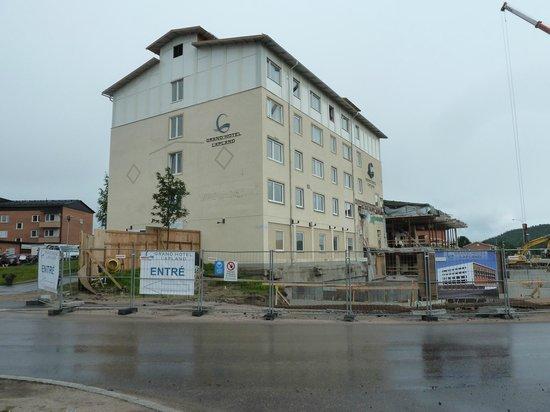 Quality Hotel Lapland: Construction site