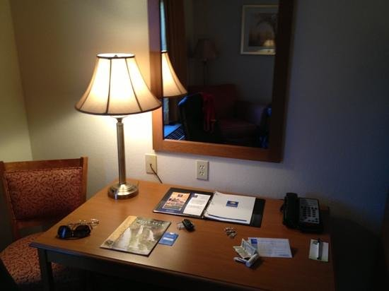Comfort Inn & Suites : desk