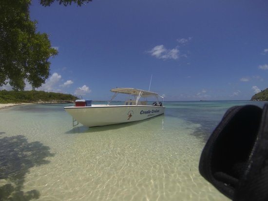 Creole Antigua Tours: Bird Island - for the Barbeque
