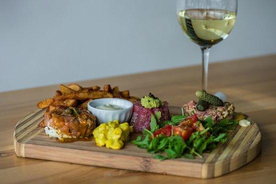 Restaurant Overflow: Triologie de tartares
