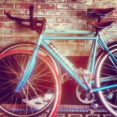 Jacks Wood Fired Oven: Bike friendly. :)