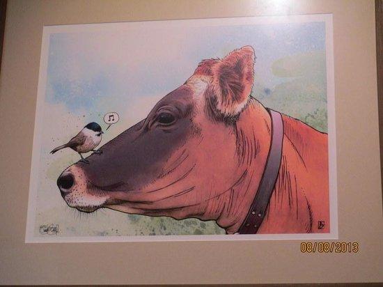 Worthy Burger: Local Art Displayed