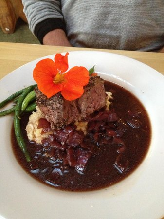 Treebones Resort Wild Coast Restaurant and The Sushi Bar : beef