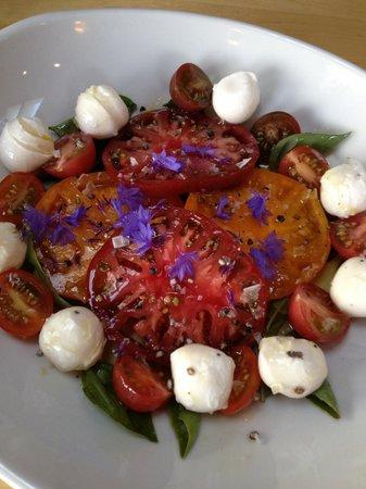 Treebones Resort Wild Coast Restaurant and The Sushi Bar : salad