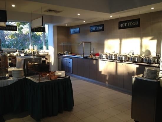 Waldorf Leura Gardens Resort: buffet du déjeuner
