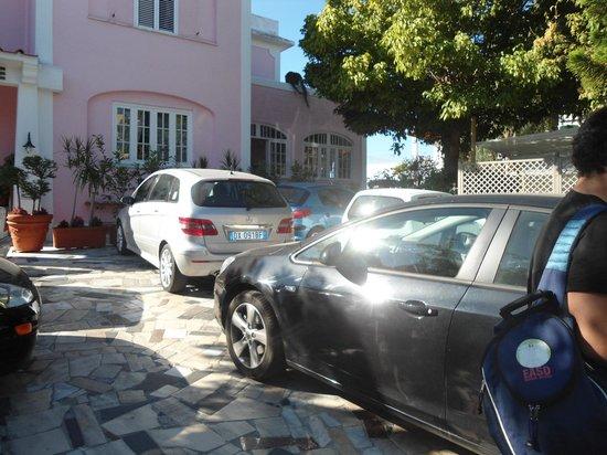 Hotel Baia Verde: parcheggio...