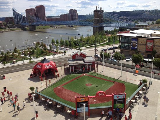 Great American Ball Park Kid Zone Just Outside Of The Stadium Proper But Still
