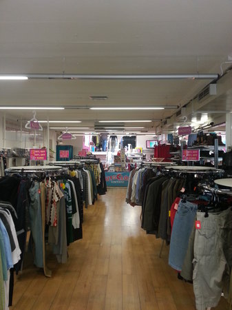 Out of the Closet: inside the store
