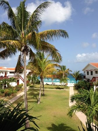 Carimar Beach Club: vue de l'appartement