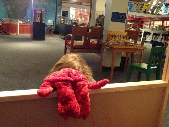 Santa Barbara Maritime Museum: Puppet theater