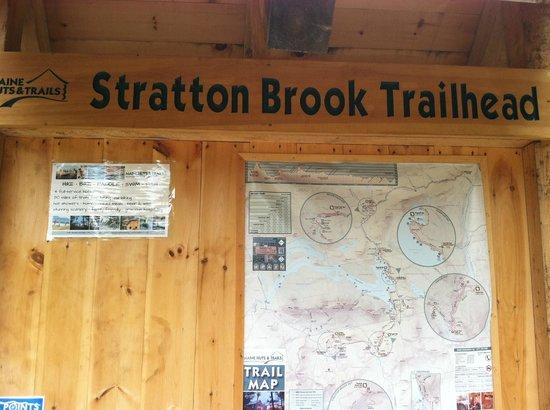 Maine Huts & Trails : Stratton Brook Trailhead