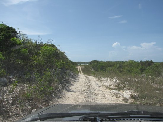Columbus Point: Access road