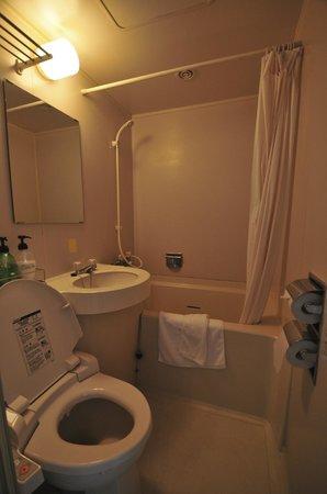 Funabashi Daiichi Hotel : The bathroom - small but clean