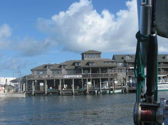 The Breakwater Inn: Odens Dock