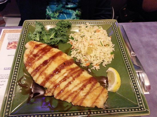 Mel's Diner: Glazed Soy Swai