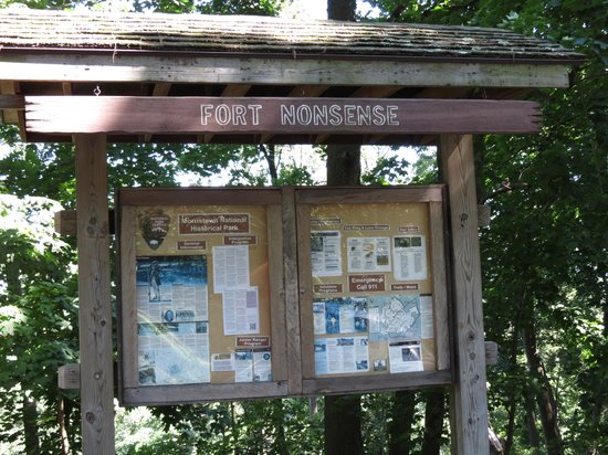 Fort Nonsense Sign