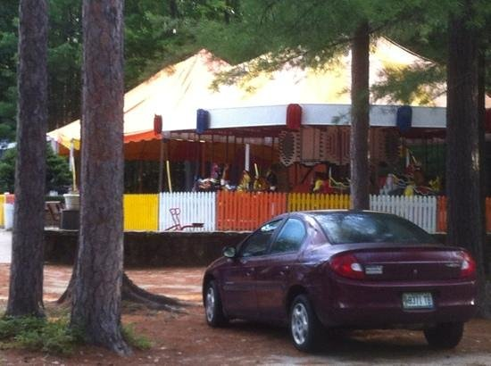 Papoose Pond Family Campground & Cabins: carousel