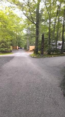 Linville Falls Campground RV Park & Cabins: photo of enttance