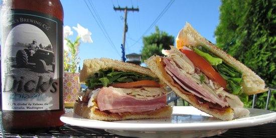 Picasso Bros Cafe Espresso Club Sandwich