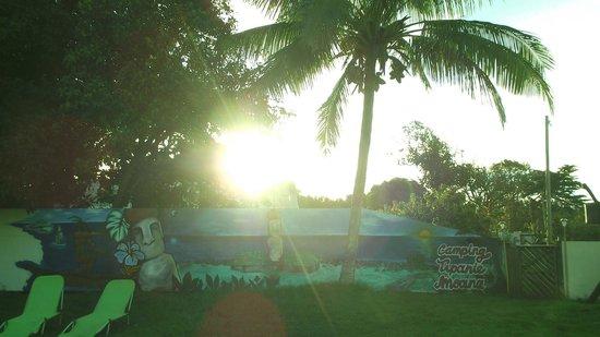 Camping Tipanie Moana: Mural Camping