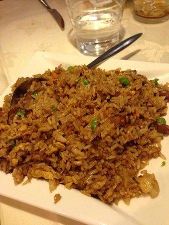 Pato Laqueado : arroz con pato