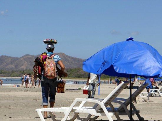 Tamarindo Beach : Beach seller