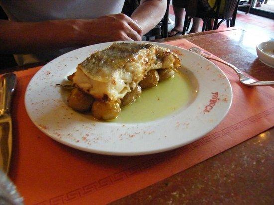 "Tribeca Restaurante - Brasserie: The Codfish "" À Lagareiro""..."