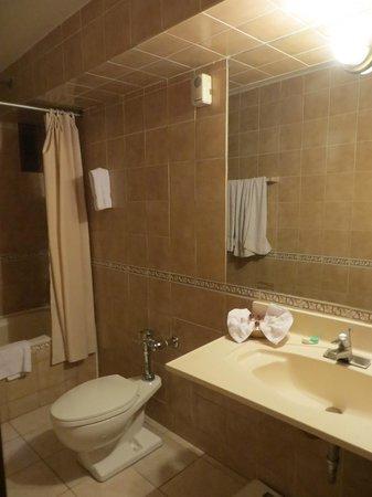 Hotel Ruinas: Bathroom