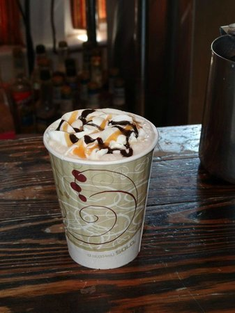 Country Morning Coffee: Love all that whip cream