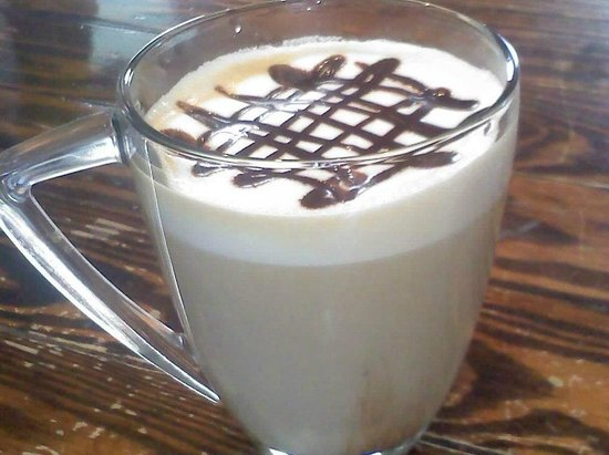 Country Morning Coffee: Frothiness- YUM!