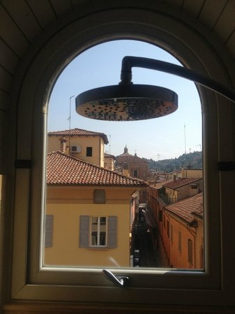 Art Hotel Novecento : A room with a view.