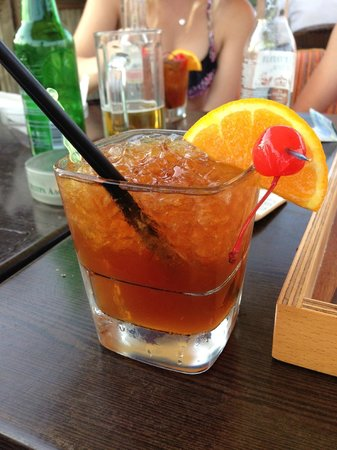 """Vournelis Beach Hotel & Spa: Cocktail """"Steak Sauce"""""""
