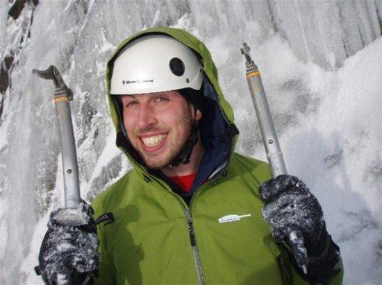Chamox : Escalade de glace