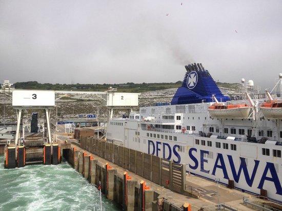 Norfolkline Dunkerque : Dover