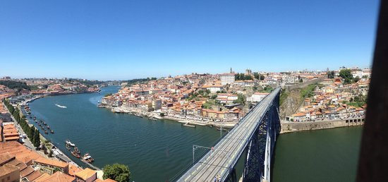 Serra do Pilar Viewpoint: Vista da Cidade do Porto do Miradouro da Serra do Pilar