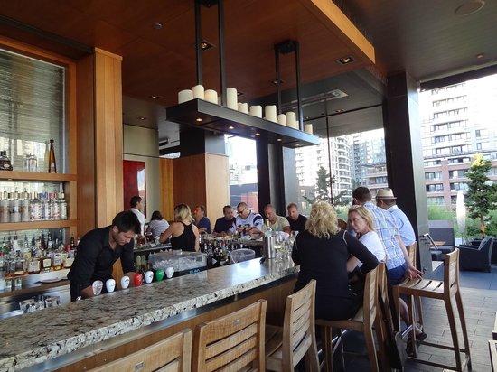 The Keg Steakhouse + Bar - Yaletown: bar