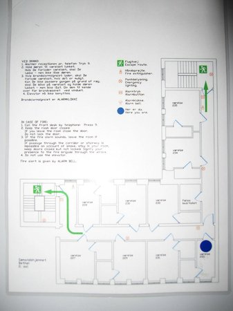 Somandshjemmet Bethel: Floorplan